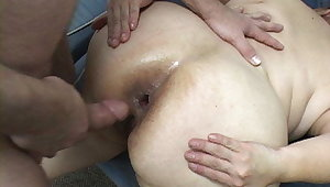 Mexican Granny Demoiselle Gets Anal Abused