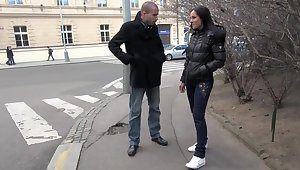 Cute Czech girl gets expected quarters with an increment of fucked